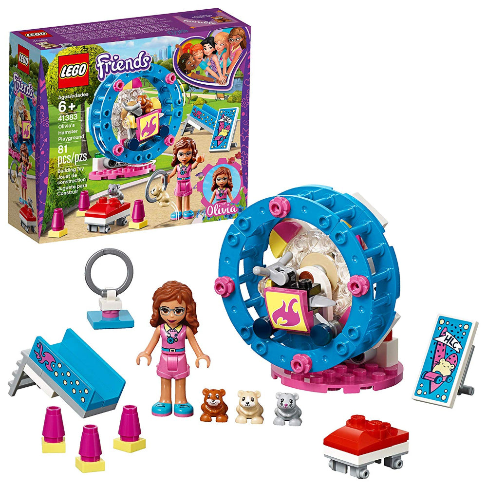 Lego Friends Olivia'S Hamster Playground (81 Pieces)