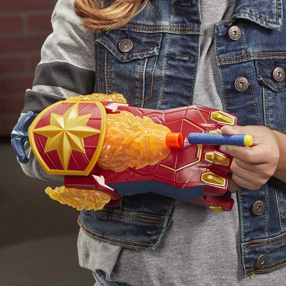 Nerf Avengers Power Moves Role Play Captain Marve  Image#2