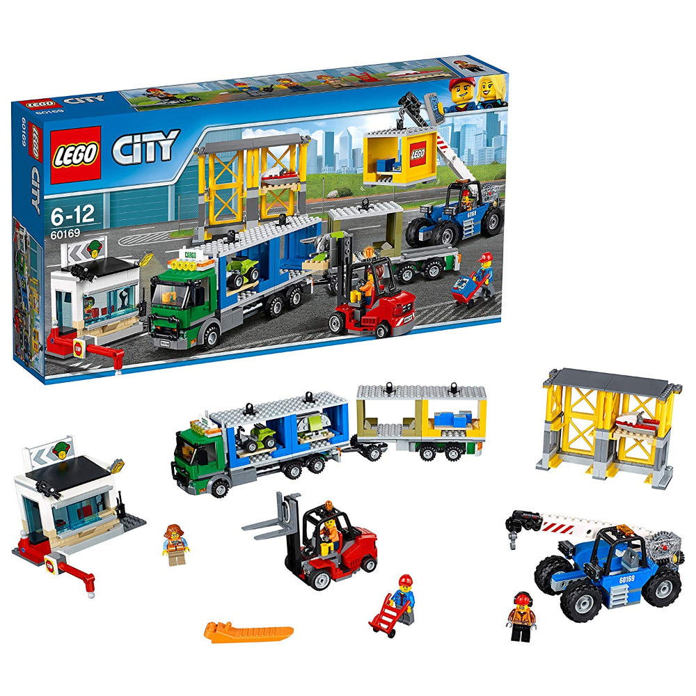 Lego City Cargo Terminal (740 Pieces)  Image#1
