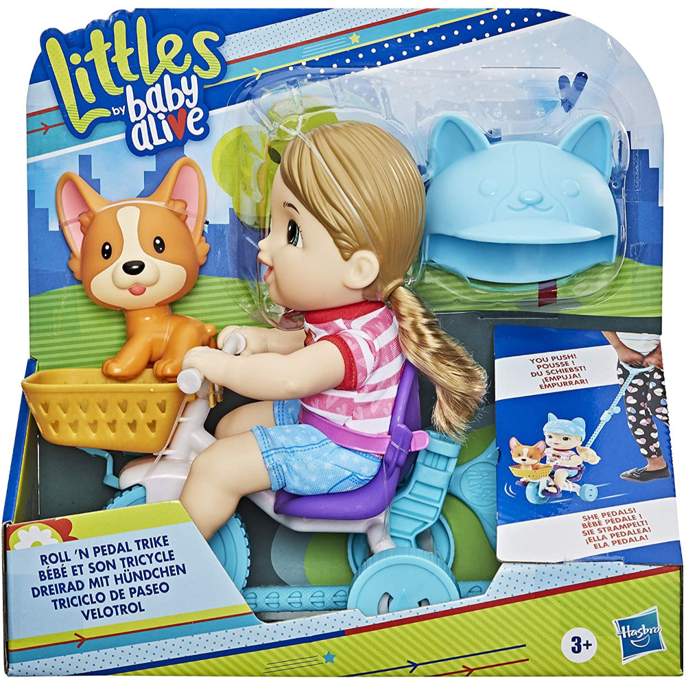 Baby Alive Littles, Roll 'n Pedal Trike  Image#2