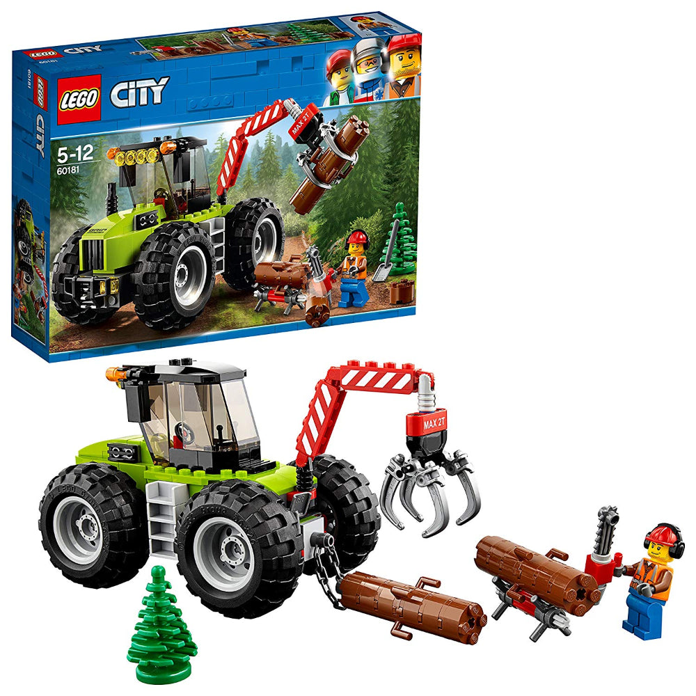 Lego City Forest Tractor (174 Pieces)