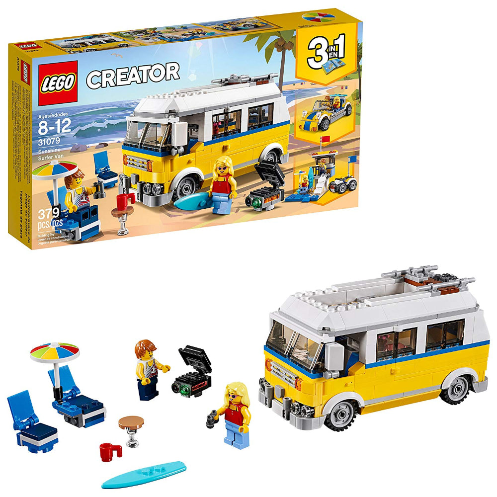 Lego Sunshine Surfer Van (379 Pieces)