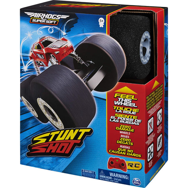 Air Hogs - Super Soft, Stunt Shot Indoor Remote Control Stunt Vehicle with Soft Wheels