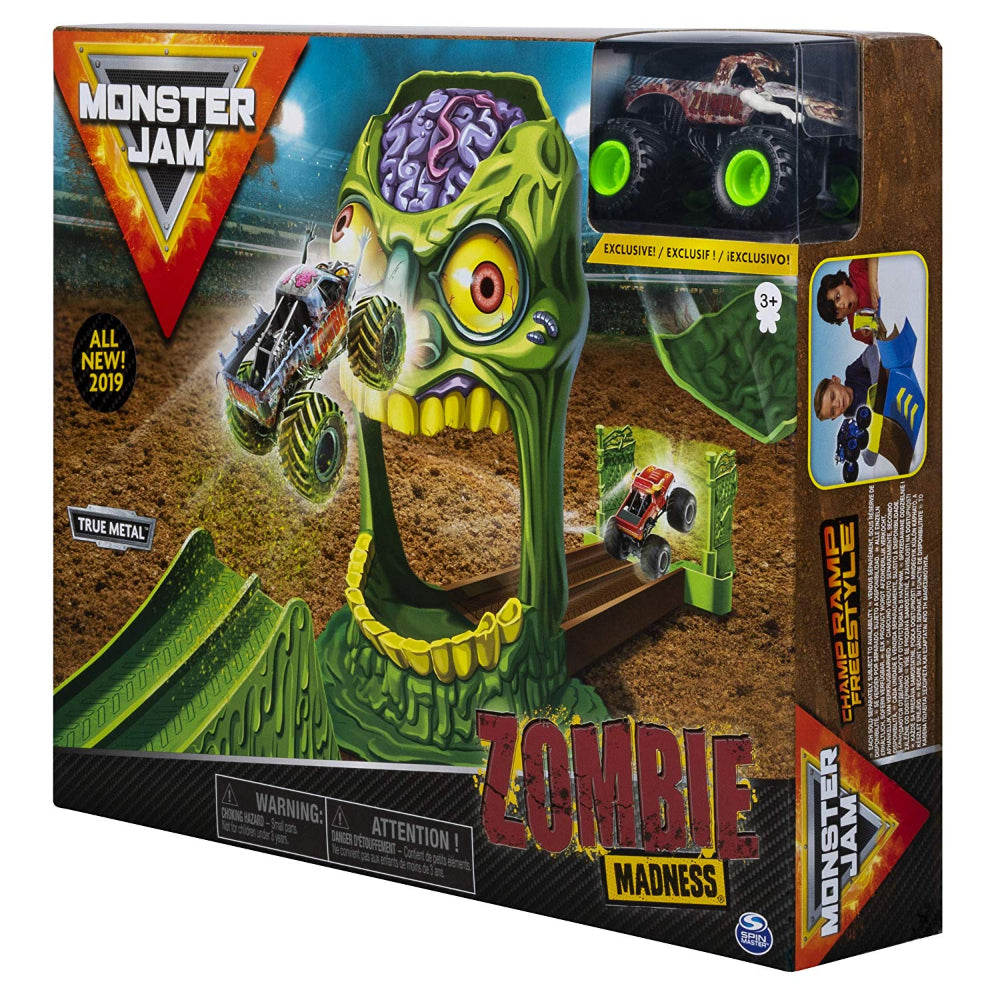 Monster Jam Zombie Madness 1:64 Basic Stunt Playset
