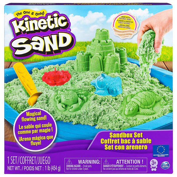Kinetic Sand Box (Colours May Vary)