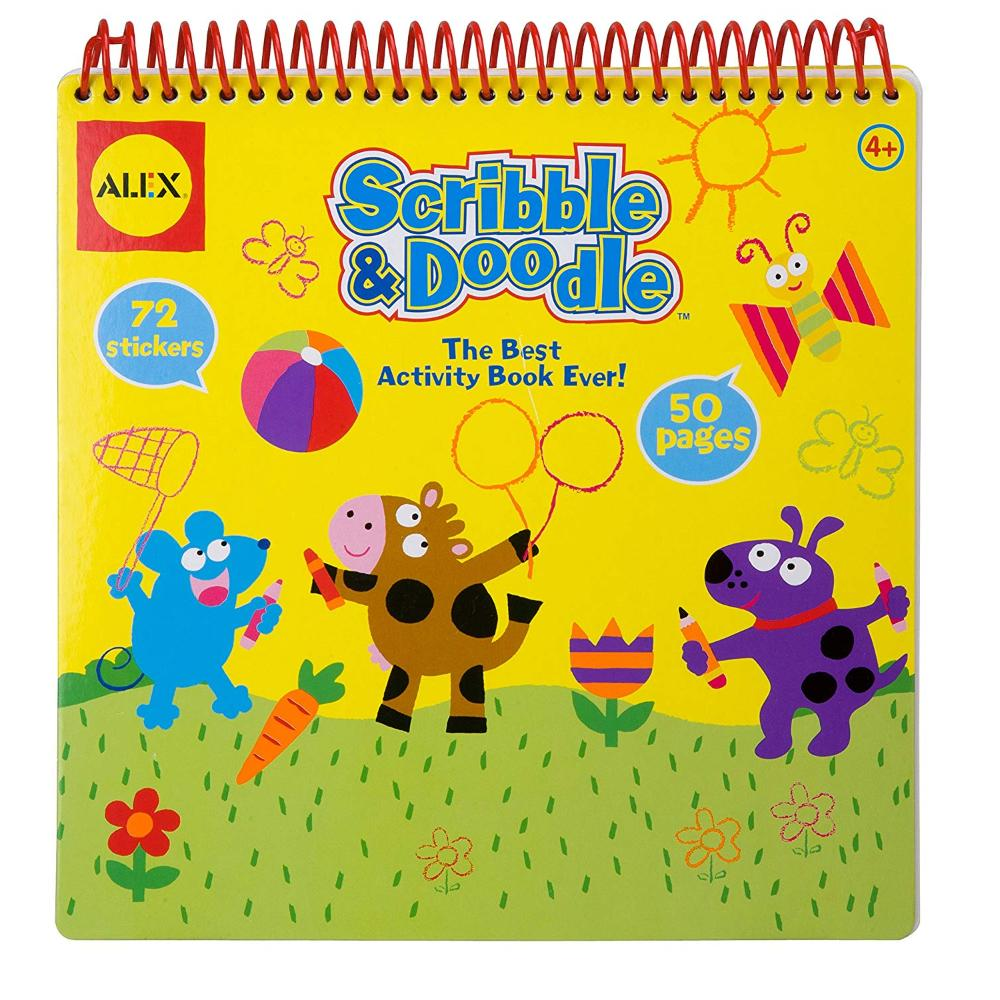 Alex Toys Scribble And Doodle - Pk6