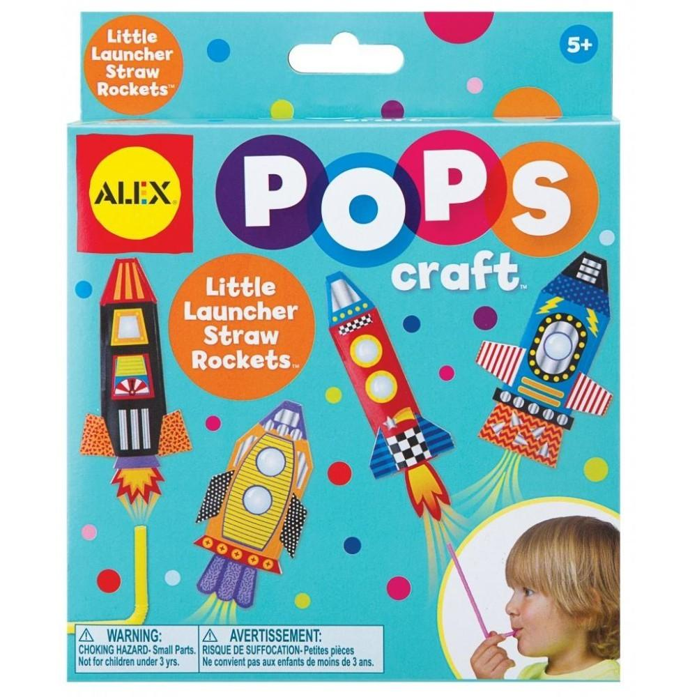 Alex Toys Little Launcher Straw Rockets