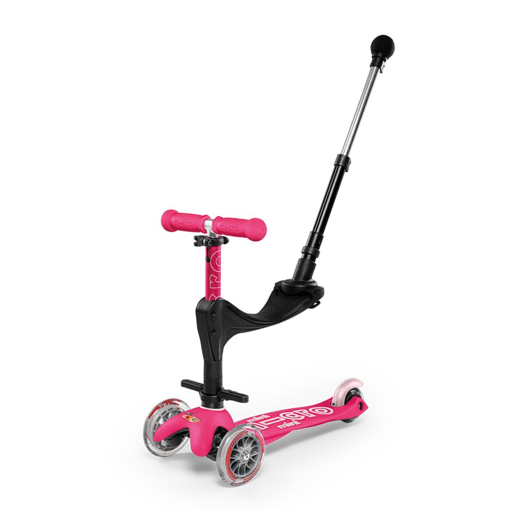 Microscooter Mini 3In1 Deluxe Pink