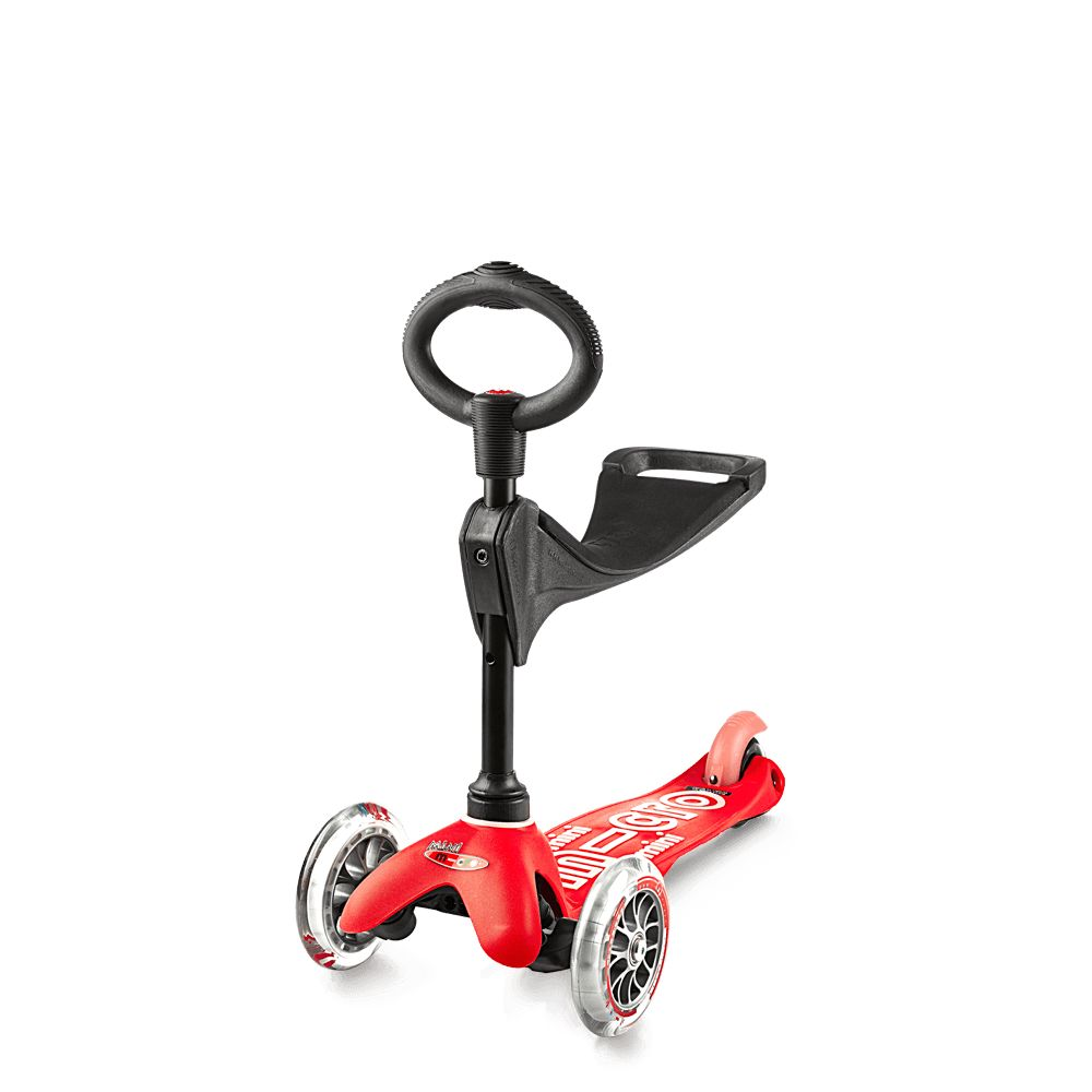 Microscooter Mini 3In1 Deluxe Red