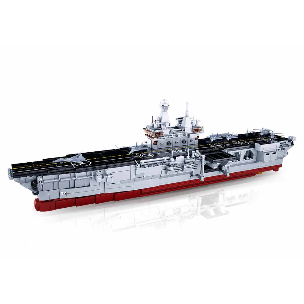 Sluban Model Bricks-075 Amphibious Assault Ship 1:450 (1088Pcs)