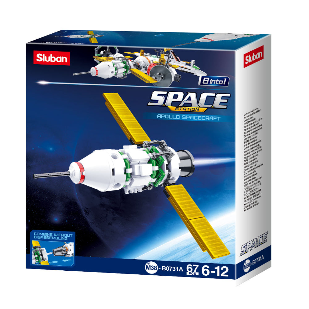 Sluban Space-Apollo Spacecraft(67Pcs)