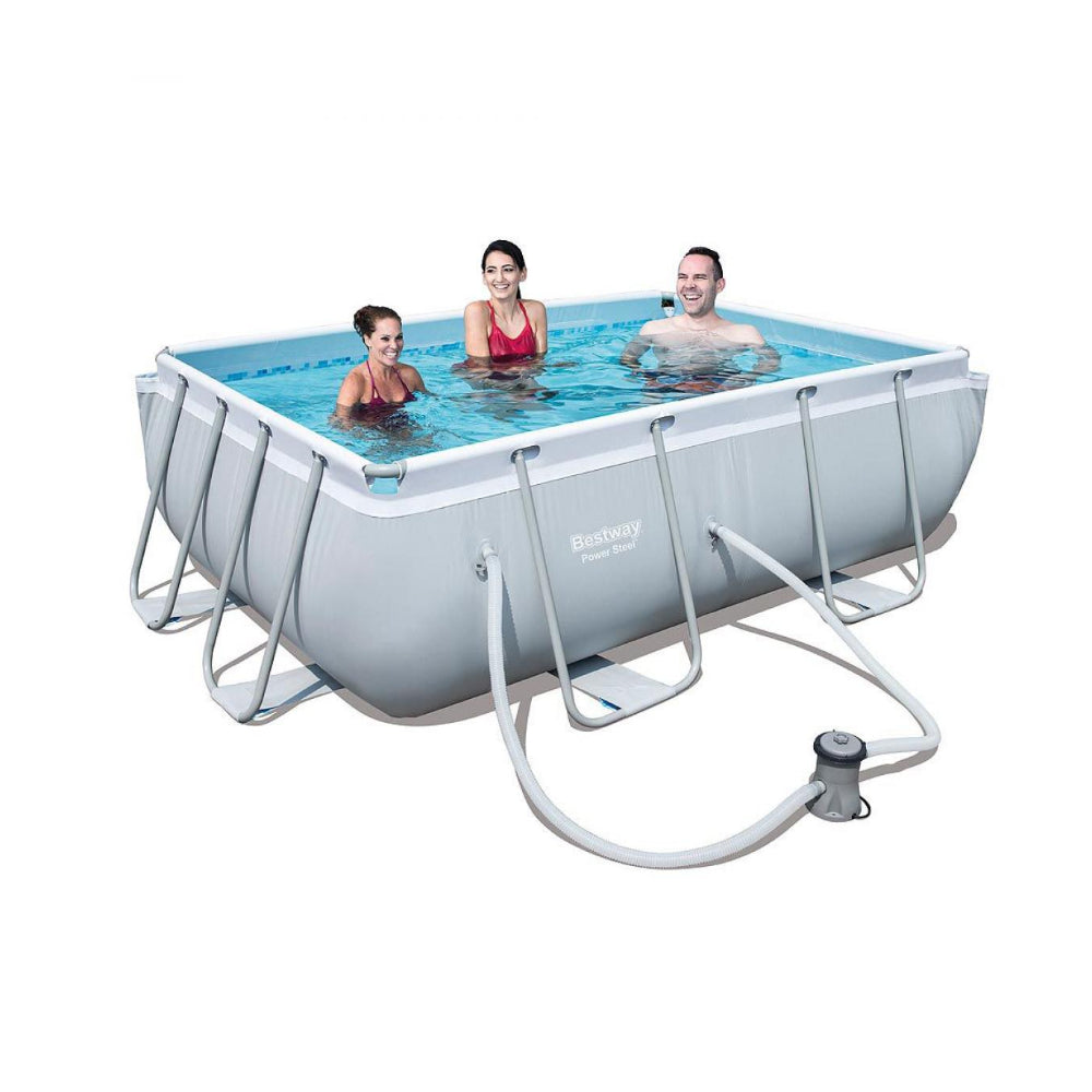 Bestway - Rectangular Pool Set 2.82 m x 1.96m x 84cm
