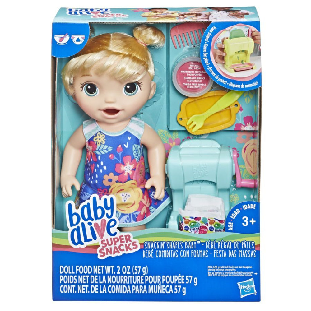 Baby Alive Snackin Shapes Baby Blonde Hair  Image#1