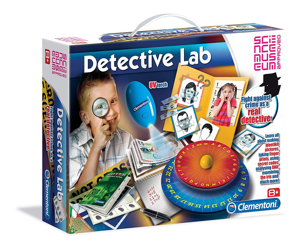 Clementoni Science & Game Detective Lab