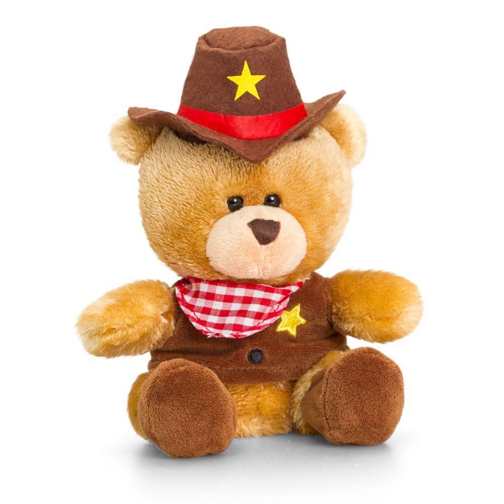 Keel Toys 14Cm Pipp The Bear Cowboy  Image#1