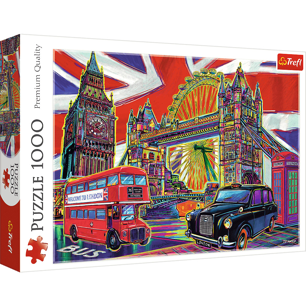 Trefl Puzzles 1000 Colours Of London