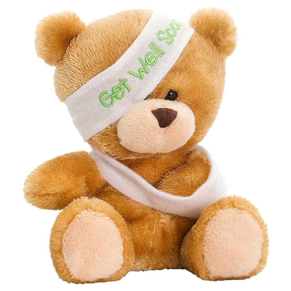 Keel Toys 14Cm Pipp The Bear Get Well Soon