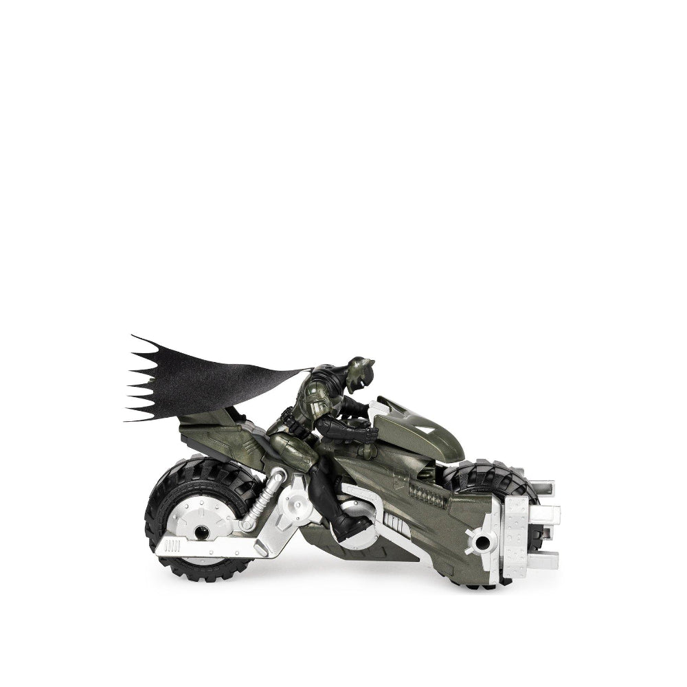 Batman Dc Batcycle Figure