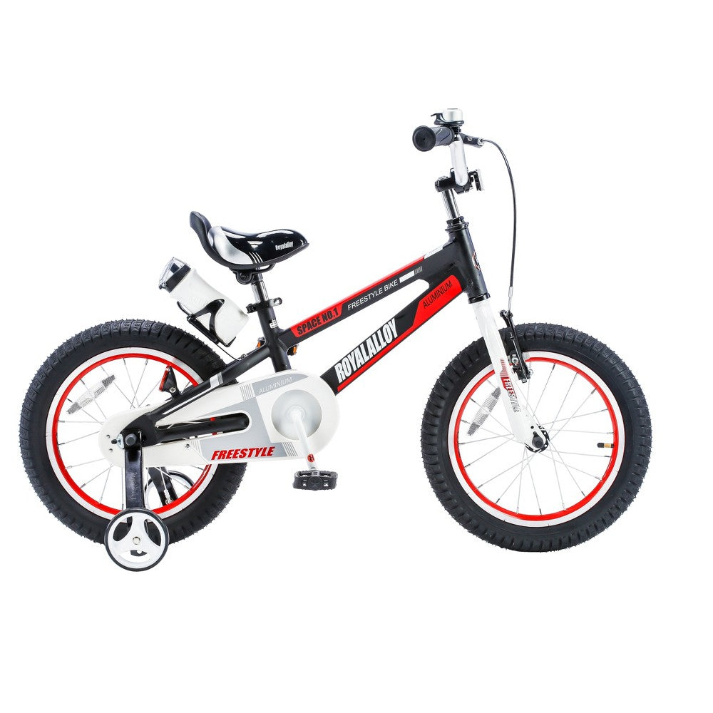 "Royal Baby Space No.1 Alloy.Children Bicycle 12"" Black.Regular"