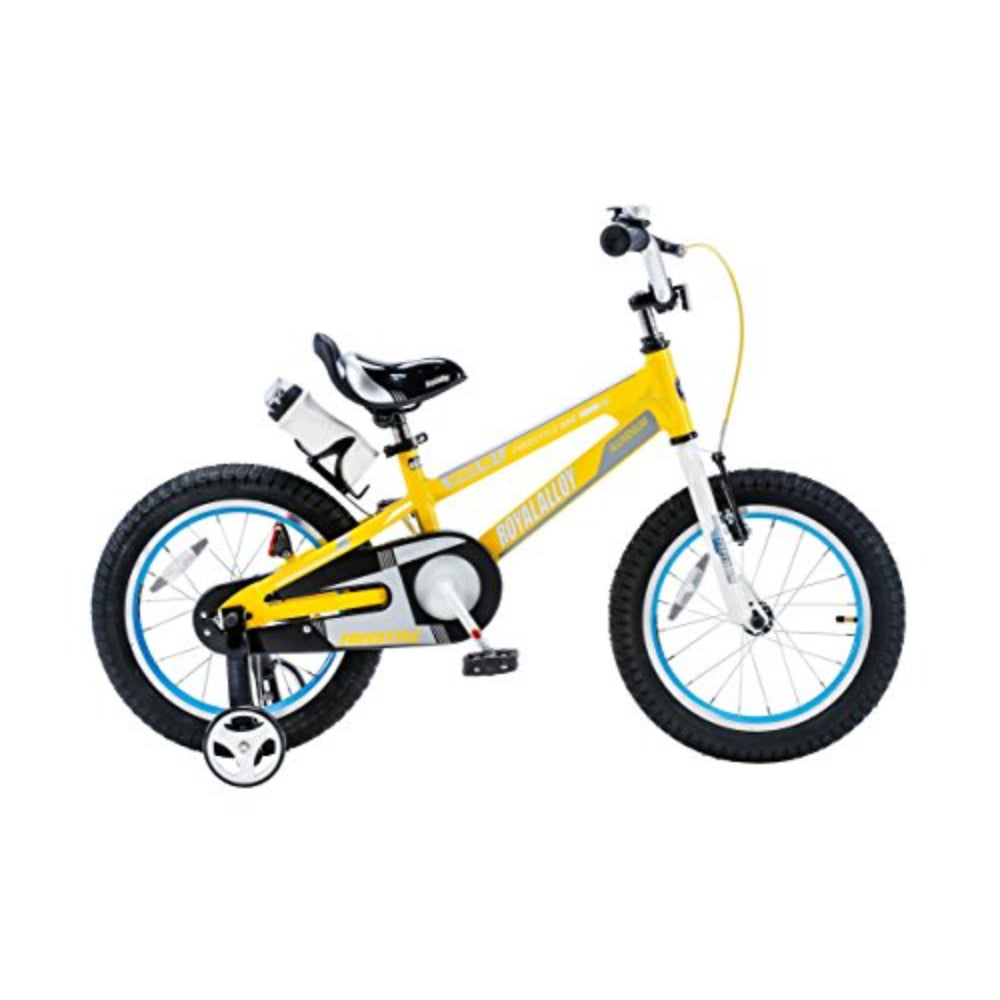 "Royal Baby Space No.1 Alloy.Children Bicycle 12"" Yellow.Regular"
