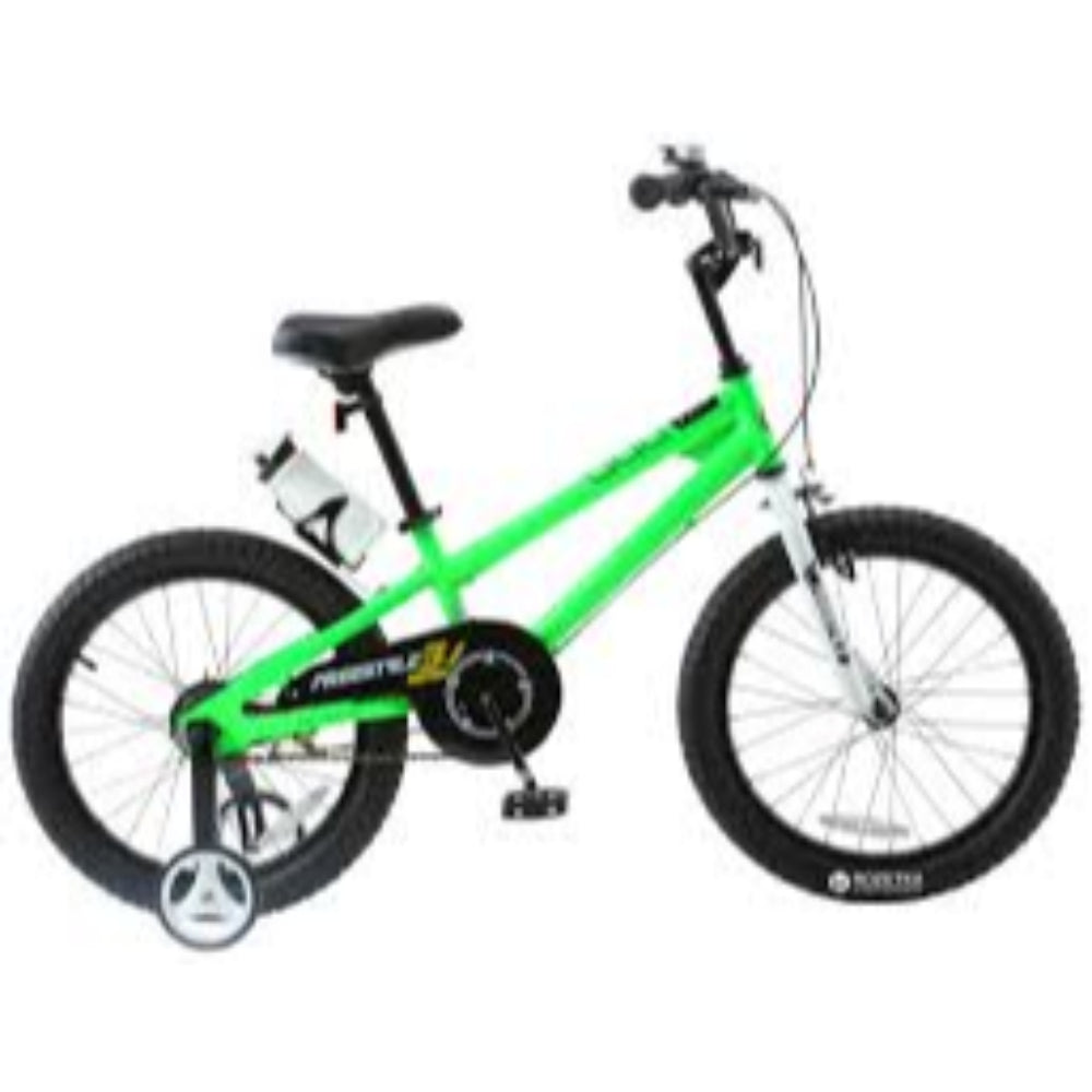 "Royal Baby Rby Freestyle Kids Bike 14"" Green.Regular"