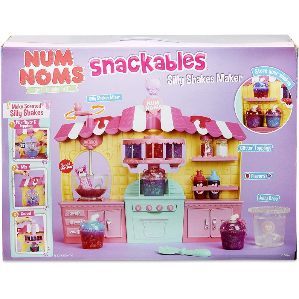Num Noms Snackables Silly Shks Playset