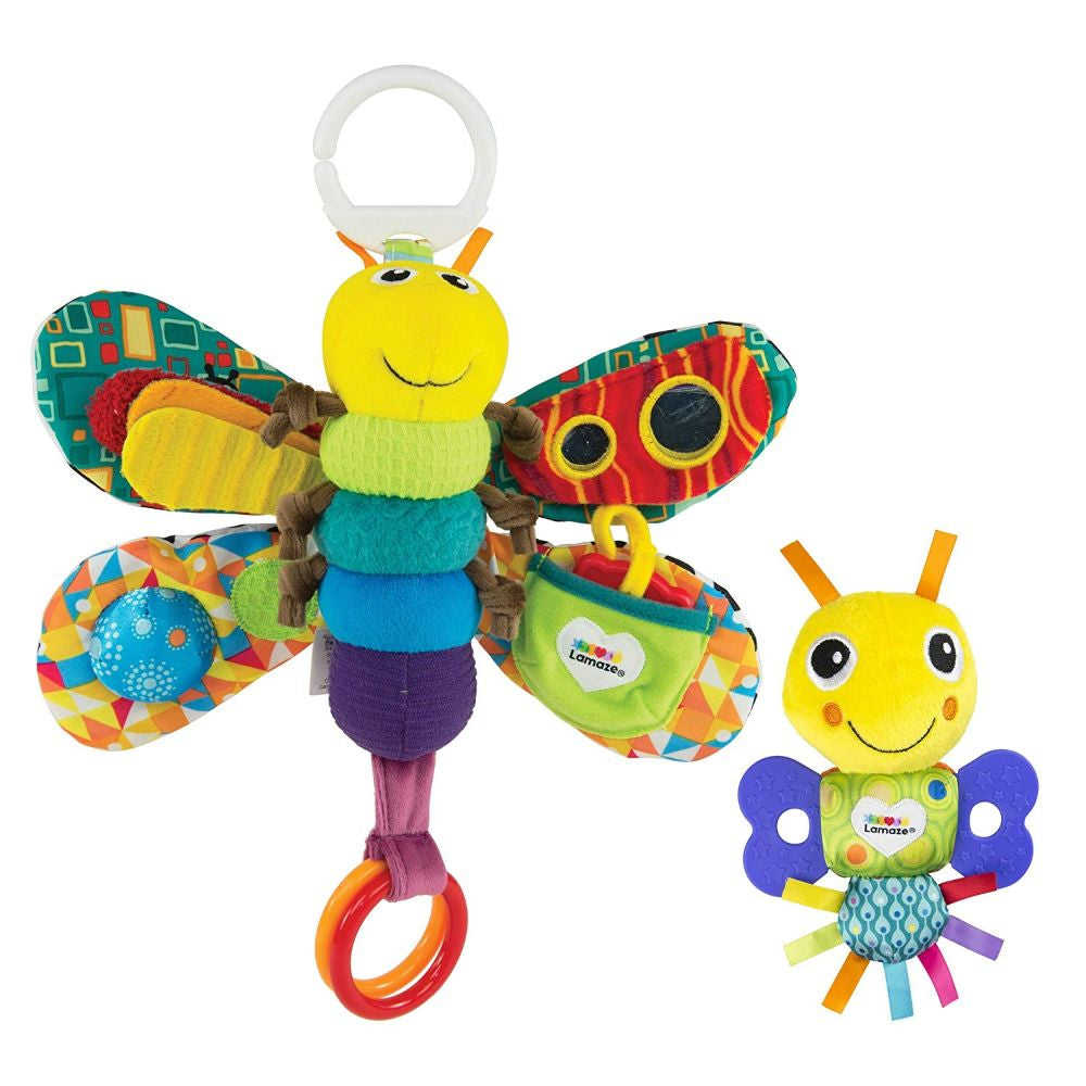 Lamaze Tomy Gs Freddie Clip & Go Teether