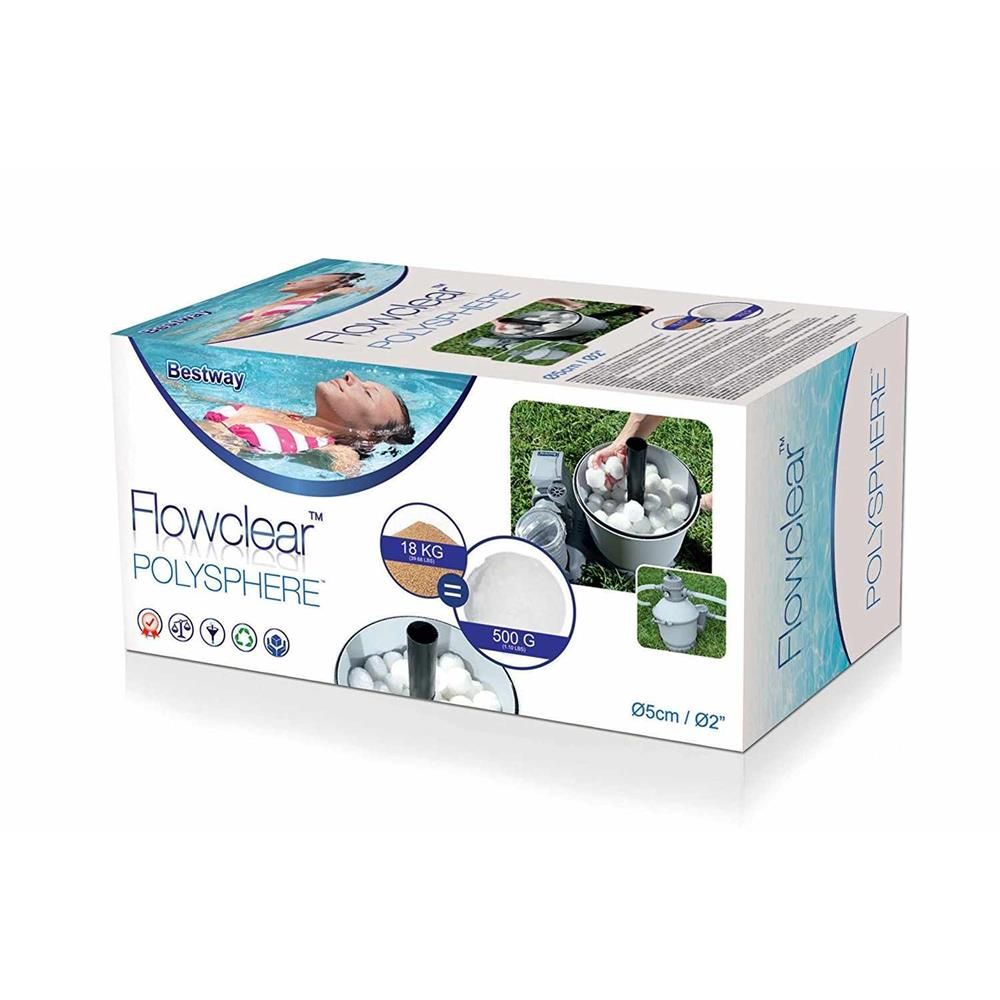 Bestway Flowclear Polysphere Cotton Spheres For Filter Above Ground Pool