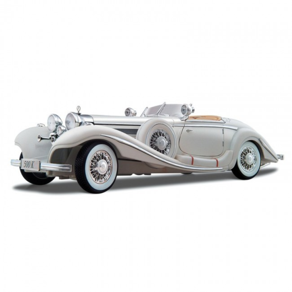 Maisto 1:18 1936 Mercedes Benz 500K Type Special Roadster Premier Edition