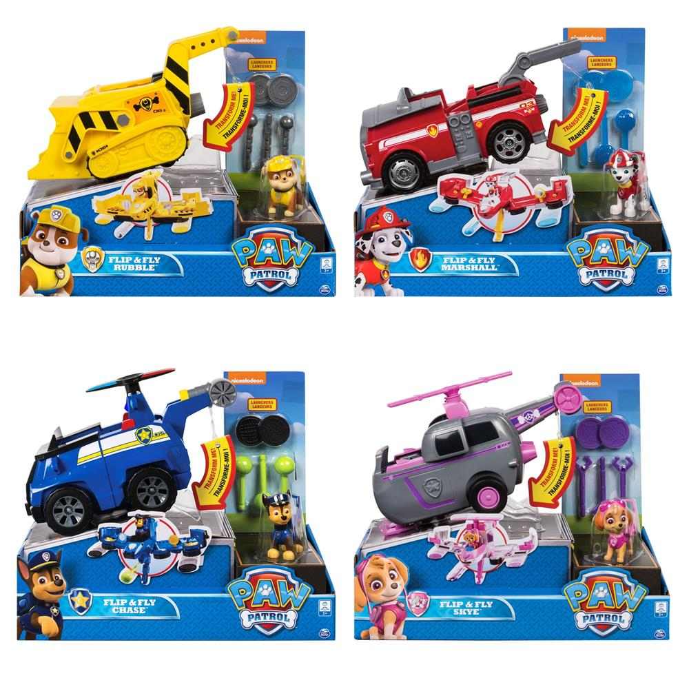 Paw Patrol Flip & Fly Vehicle Assortment (Sold Separately-Subject To Availability )  Image#1
