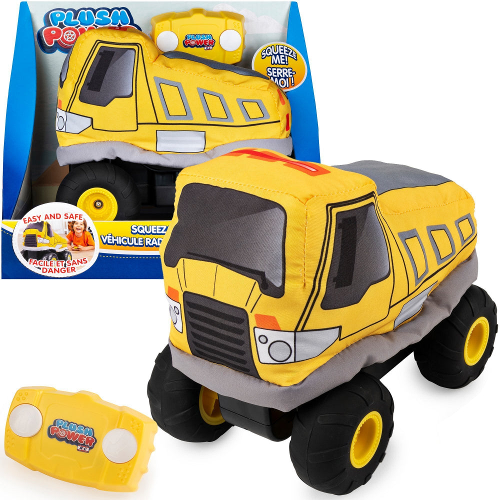 Plush Power Remote Control  Dump Truck
