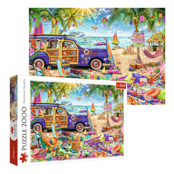 Trefl  Tropical Holiday 2000 Pieces