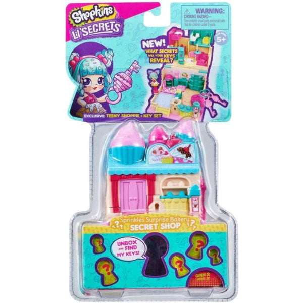 Shopkins Lil Secrets Mini Playset Sprinkles Surprise Bakery