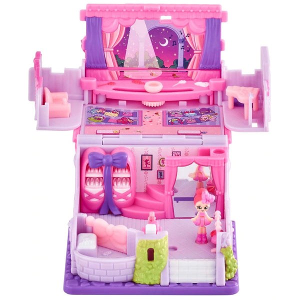 Shopkins Lil Secrets Secret Shop Happy Steps Dance Studio Mini Playset