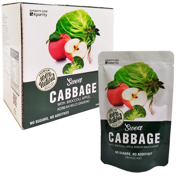 Kpurity Sweet Cabbage Extract (100ml x 10 pouches) -Free Shipping