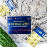[3+1] 4 Boxes DangCare Blood Glucose Support + 15 Pouch (1 Box) Bitter Melon Tea