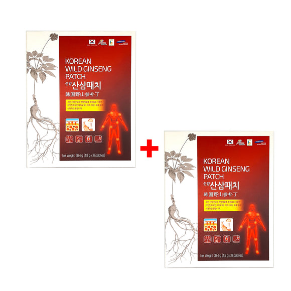 [1+1] 2 Boxes Korean Wild Ginseng Healing Patch