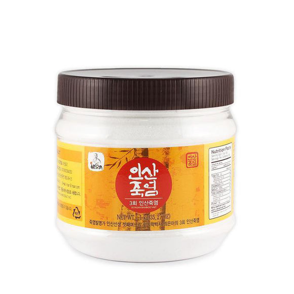 3x Bamboo Salt 1kg (Powder)
