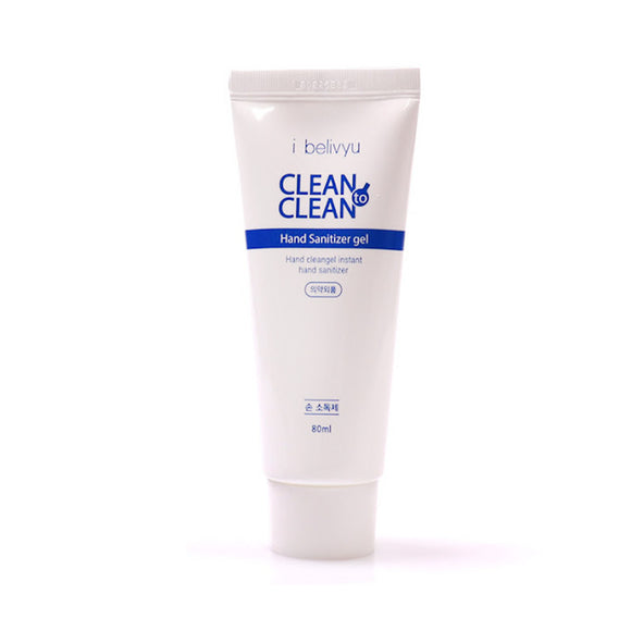 CleantoClean Antibacterial Hand Sanitizer Gel 80 ml