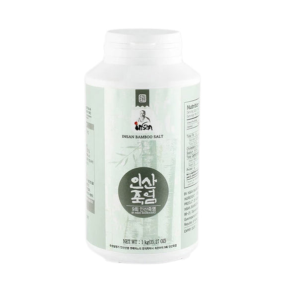 9x Bamboo Salt 1kg (Powder)