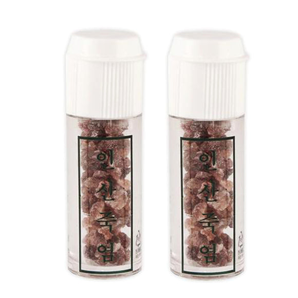 Pack of 2 Purple Bamboo Salt 8g (Crystal)