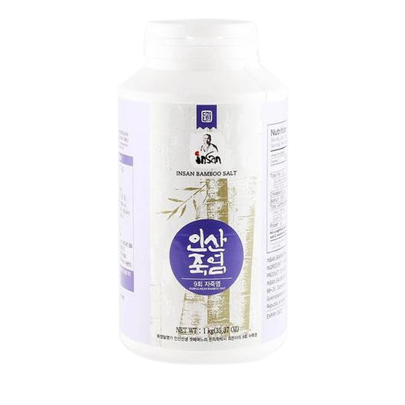 Purple Bamboo Salt 1kg (Crystal)