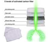 2.5 PM Activated Carbon 5 Layers Air Filter Set 10pcs or 20 pcs