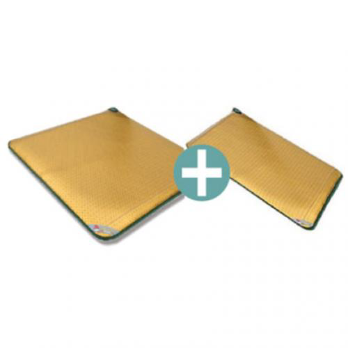 Naega-One Far Infrared Heat & Negative Ion Single Mat + Cover Mat (Combo Healing Mat)