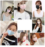 Melt-Blown Disposable 3-Ply Face Masks 10pcs