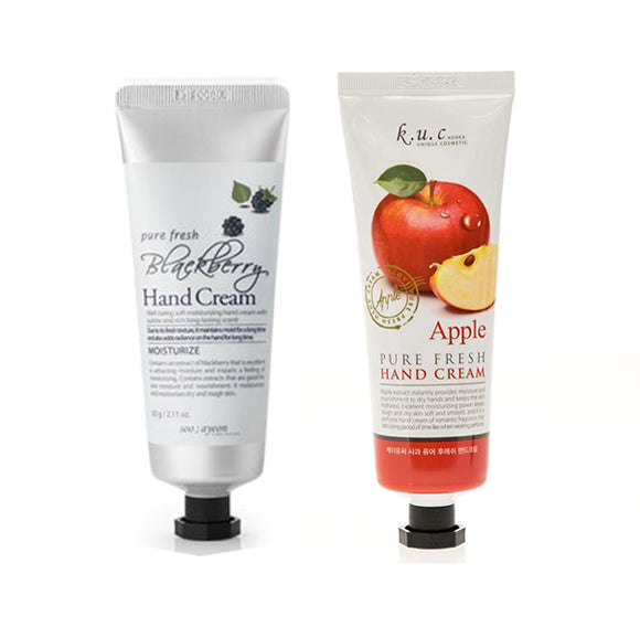 KUC Pure Fresh Hand Cream Lotion 2 pcs Set