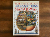 Stephen Beisty's Cross-Sections: Man-of-War, Hardcover Book with Dust Jacket