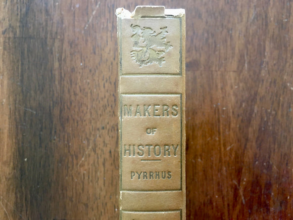 Pyrrhus by Jacob Abbott, Makers of History, Antique, Hardcover Book, Werner