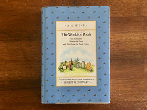 The World of Pooh by A.A. Milne, Illustrated by Ernest H. Shepard, Vintage 1985, Hardcover Book with Dust Jacket
