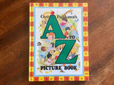 Gyo Fujikawa's A to Z Picture Book, Vintage 1981, Hardcover Book, Illustrated